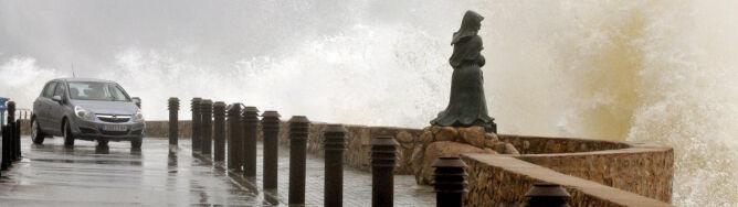 Deszcz sparaliżował północną Hiszpanię