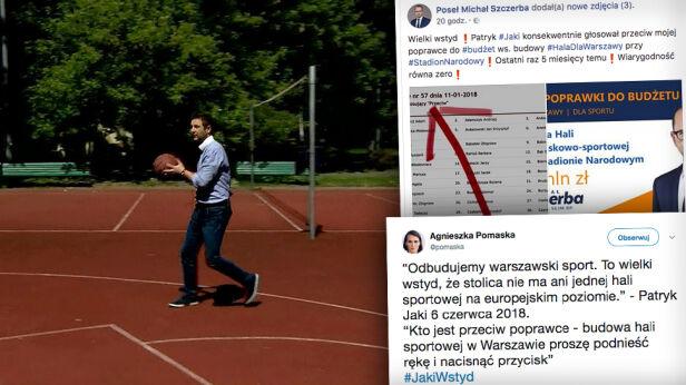 Patryk Jaki chce budowy hali sportowej TVN24
