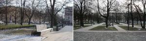 Nowy skwer przy Muzeum Historii Żydów Polskich