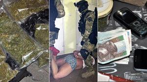 Uderzenie w gang narkotykowy. Policja zatrzymała 32 osoby