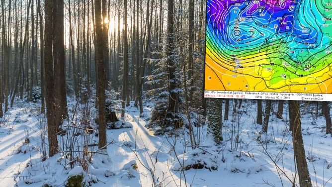 Synoptyk sprawdza, czy jest szansa <br />na śnieg w święta