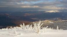 W Bieszczadach zima: śnieg i mróz