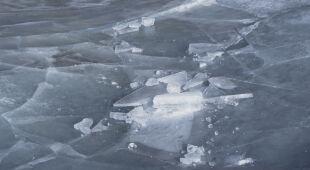 """""""My tego nie widzimy, jak ten lód jest nieprzejrzysty"""""""