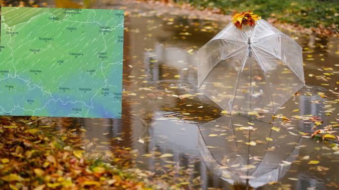 Pogoda na 5 dni: deszcz, deszcz ze śniegiem, a miejscami tylko cztery stopnie