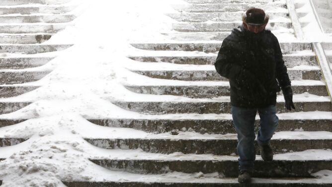Pogoda na dziś: w części kraju będzie prószyć śnieg, lokalnie 10 stopni mrozu