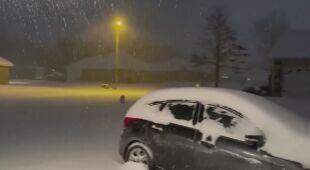 Obfite opady śniegu w Stanach Zjednoczonych