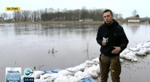 Nieznaczna poprawa w Ciechanowcu (TVN24)