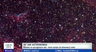 Potrójna koniunkcja w gwiazdozbiorze Lwa (TVN24)